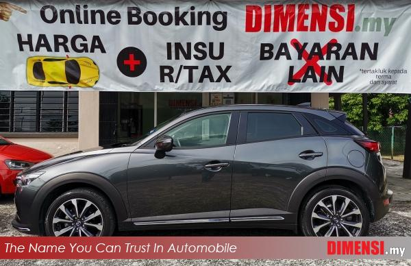sell Mazda CX-3 2018 2.0 CC for RM 103900.00 -- dimensi.my the name you can trust in automobile