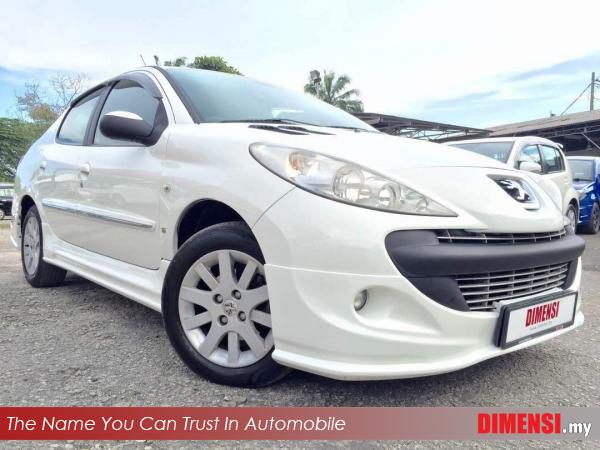 sell Peugeot 207 2012 1.6 CC for RM 17800.00 -- dimensi.my