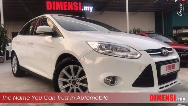 sell Ford Focus 2012 2.0 CC for RM 43800.00 -- dimensi.my